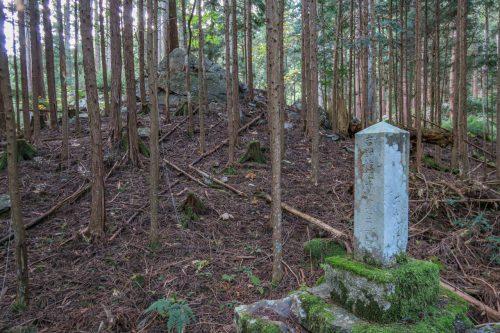 吉野周辺氏族の祖先が住んでいたといわれる場所