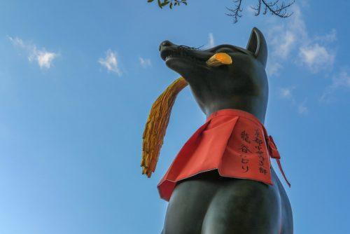 伏見稲荷大社・狛狐