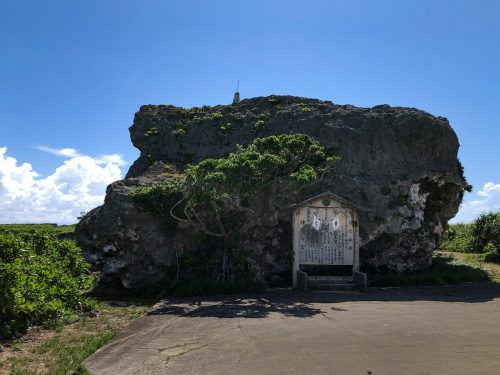 下地島巨石