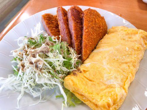 ひろちゃん食堂 ポーク&玉子